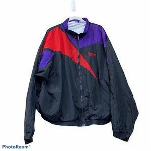Vintage Reebok 80s 90s windbreaker jacket